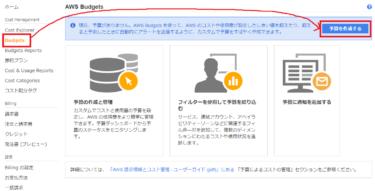 【AWS】アカウント登録後必須!AWS無料枠を超えた時にアラート通知を飛ばす設定